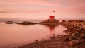 Sunrise at Fisgard Lighthouse, by Rob Stenner