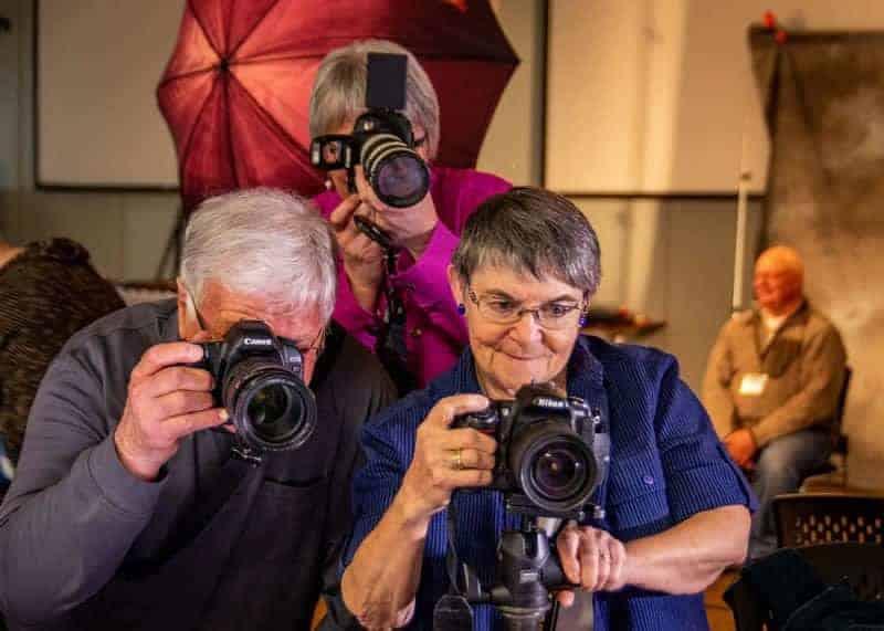 Don Garrish - Camera Club Portrait Night. Mar 2018