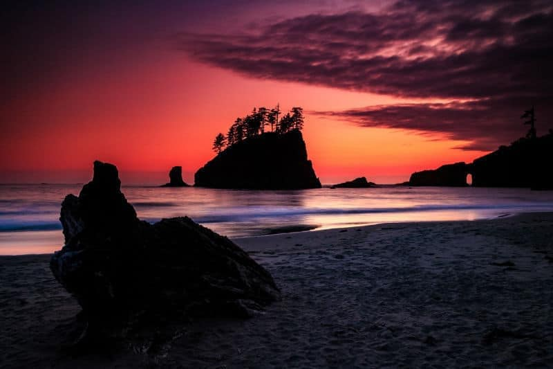 Norm Dougan - 6 Second Beach Sunset