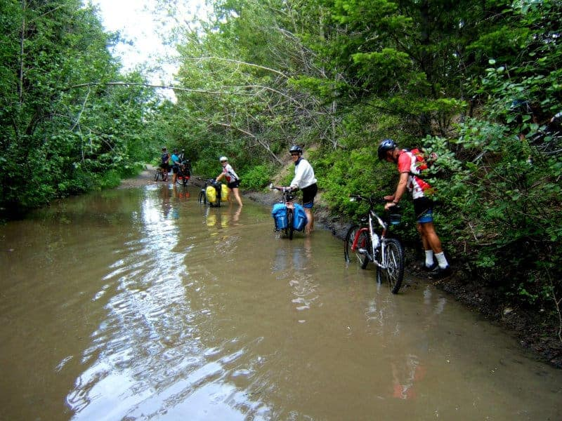 Sigi White - 6 Water Biking Trip