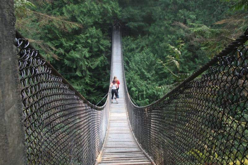 Bryan Hunt - 4 Lynn Canyon Suspension Bridge