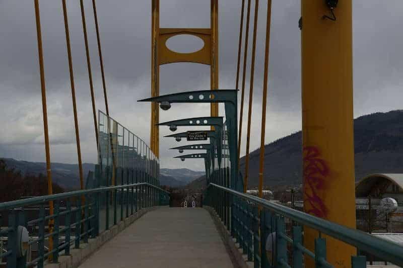 Bryan Hunt - 6  Bridge over Railway Tracks