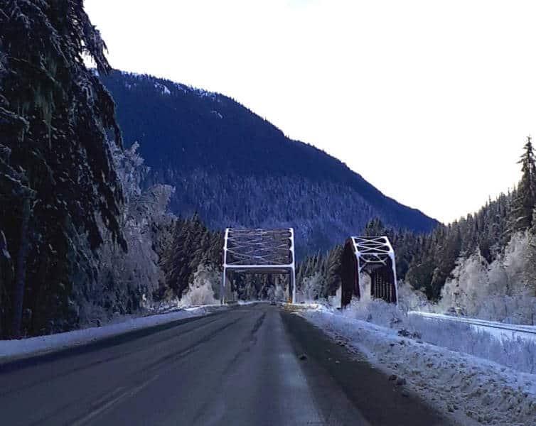 Cindy Hamilton - Winter Bridge