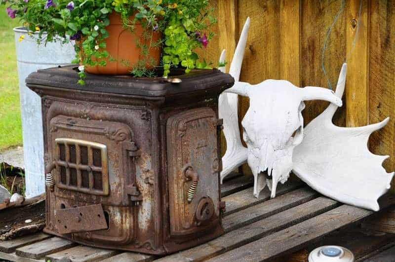 Barb Klie -5 Chilcotin Lodge Antique