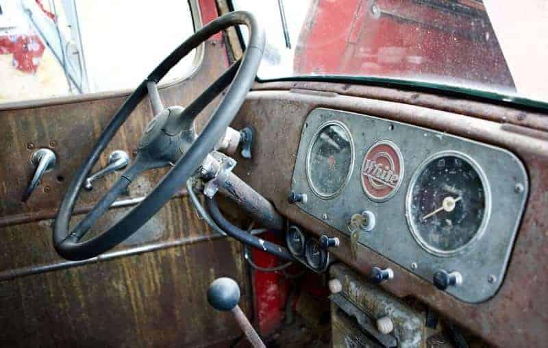 Isobel Lamarche - 1949 Truck Interior