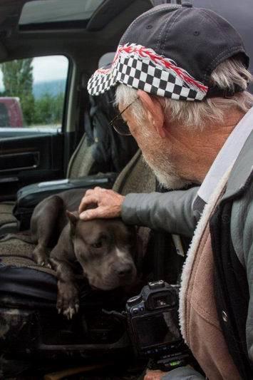 KPAC Field Trip Oct-14-5705VR Bryan pets dog